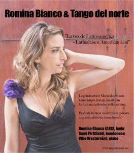 Romina Bianco & Tango del norte @ Karviasali